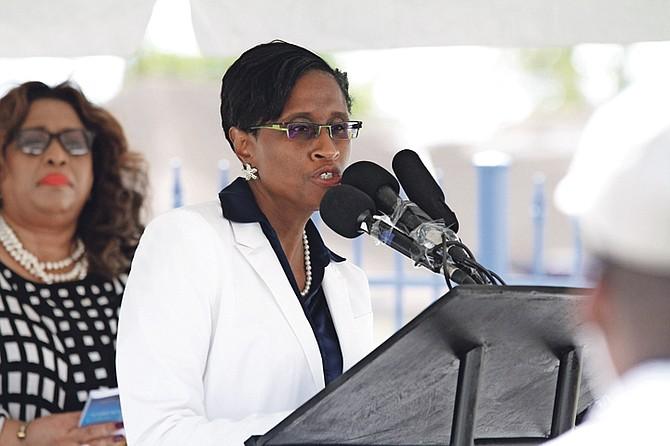 BAHAMAS Power & Light CEO Pamela Hill.