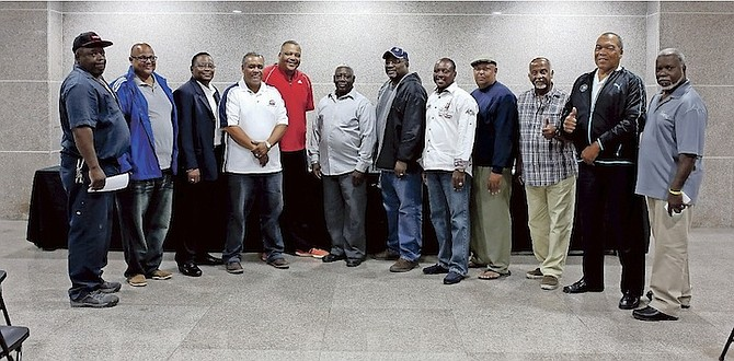 STRENGTH IN UNITY: Bahamas Baseball Association yesterday welcomed its newest members. 