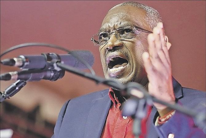FNM leader Dr Hubert Minnis.