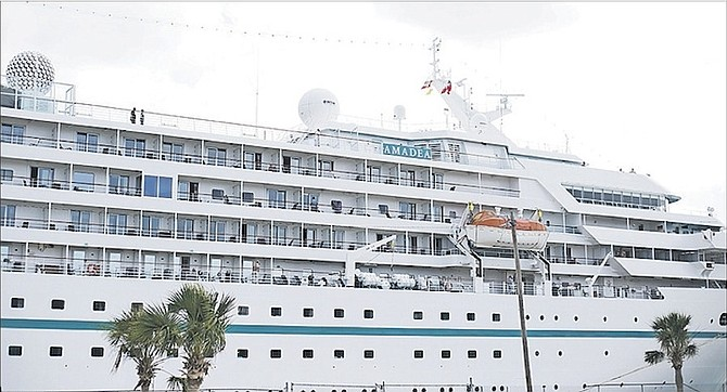 German Cruise Ship Visits Freeport During World Tour  The