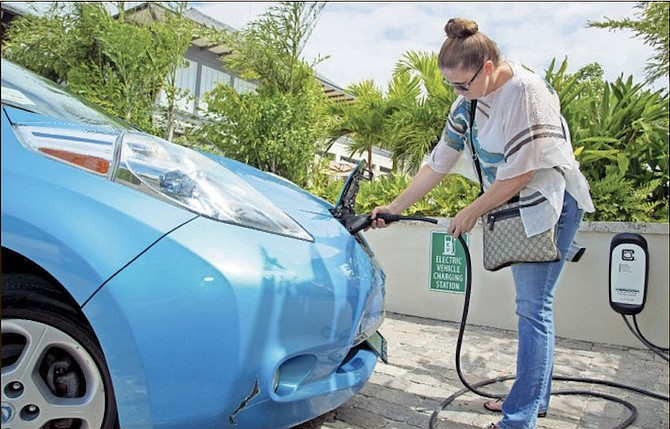 Eco Car S Has Partnered With The Island House To Provide An Ev Charging Station