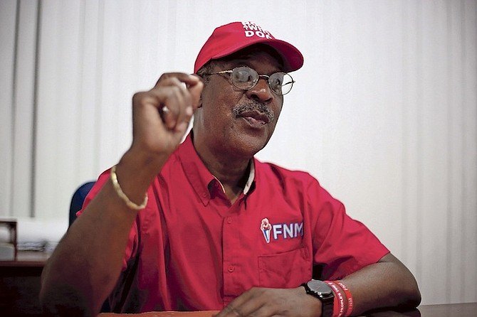 FNM Chairman Sidney Collie's resignation becomes effective on October 19.