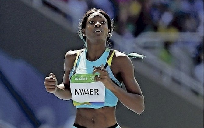 Shaunae Miller-Uibo. (File photo)