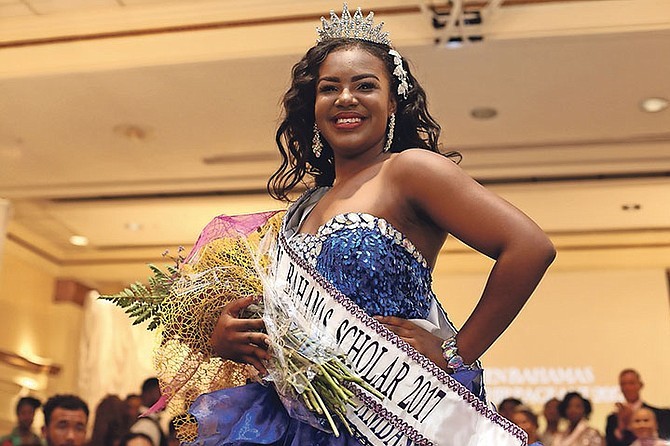 Waynisha Sha'Dea Saunders is the new Miss Teen Bahamas.