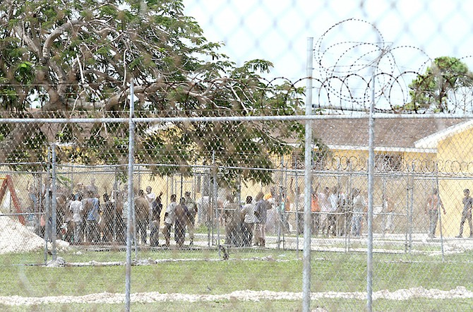 The Detention Centre at Carmichael Road.
