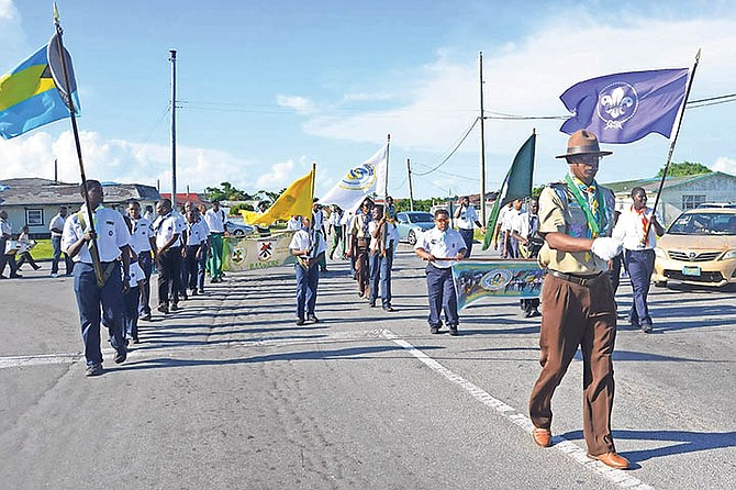 Independence celebrations in Grand Bahama. Photo: Derek Carroll