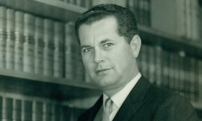 FORMER Bahamian politician and lawyer Sir Geoffrey Johnstone.