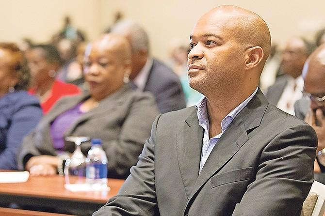Member of Parliament for Centreville Reece Chipman. Photo: Terrel W. Carey/Tribune Staff
