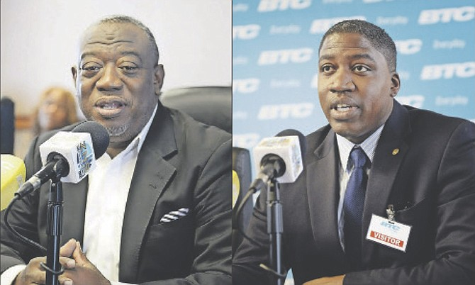 LEFT: Bernard Evans, president of the National Congress of Trade Unions Bahamas. 