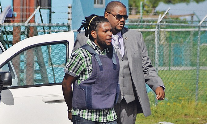 Dwayne Belizaire, of Seagrape, Eight Mile Rock, who is accused of murder. Photo: Vandyke Hepburn