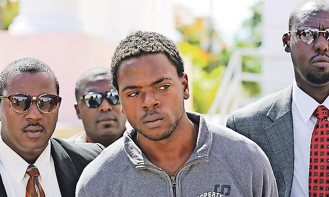 Anthon Anthony Davis, 19, outside of court. Photo: Terrel W. Carey/Tribune Staff