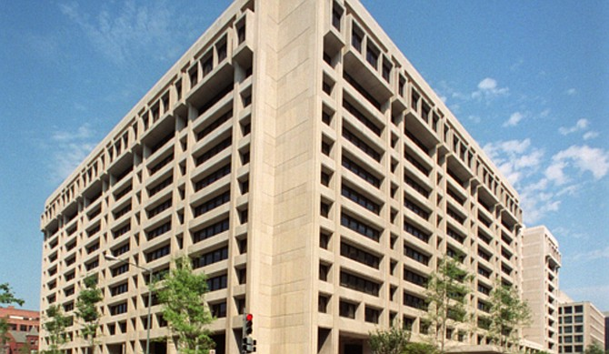 IMF Headquarters 1 in Washington, DC.