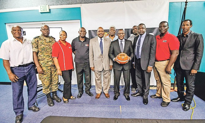 Officials from the Bahamas Basketball Federation and the Ministry of Youth, Sports and Culture have officially launched a campaign to garner public attention and get financial sponsors for Team Bahamas as it gets set to begin its bid toward FIBA World Cup and Olympic qualification.