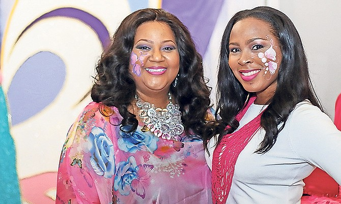 "Jody Knowles (left) celebrates life with family and friends at her ""Metamorphosis"" cancer benefit concert."