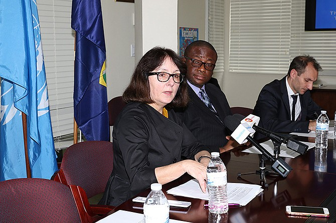 Dubravka Šimonović, the UN's special rapporteur on violence against women. BIS Photo: Letisha Henderson