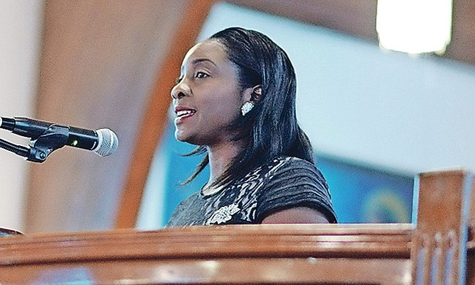 SOCIAL Services and Urban Development Minister Lanisha Rolle.
