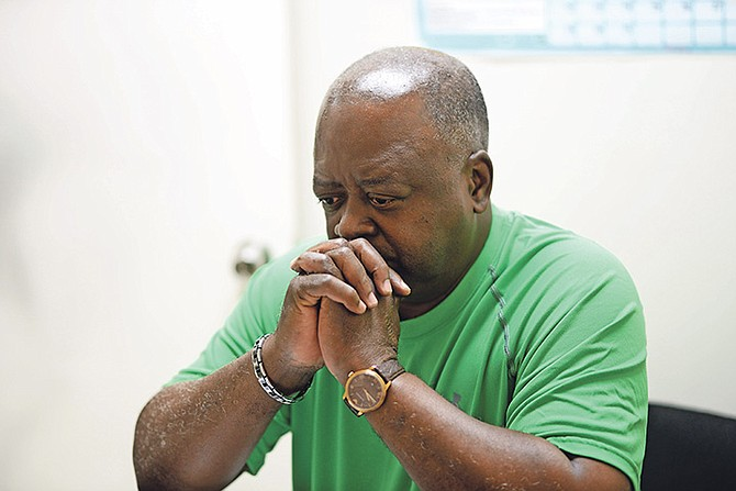 Tyrone Fowler, 62, father of Terrique Fowler, who was killed in 2013. 