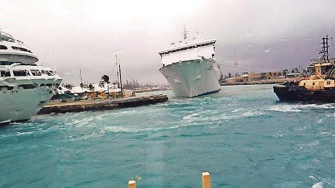 Grand Celebration Not Damaged In Dock Incident The Tribune - Cruise ship damaged