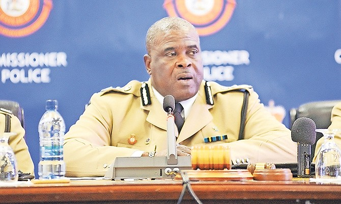 Commissioner of Police Anthony Ferguson.