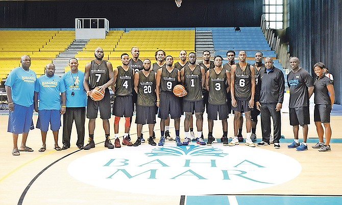 Team Bahamas, with a 13-member team selected, will play the Dominican Republic at 8pm Thursday. When the second leg of the FIBA World Cup is played on Thursday and Sunday at the Kendal Isaacs Gymnasium, the key word for Team Bahamas will be defence. Photo: Shawn Hanna/Tribune Staff