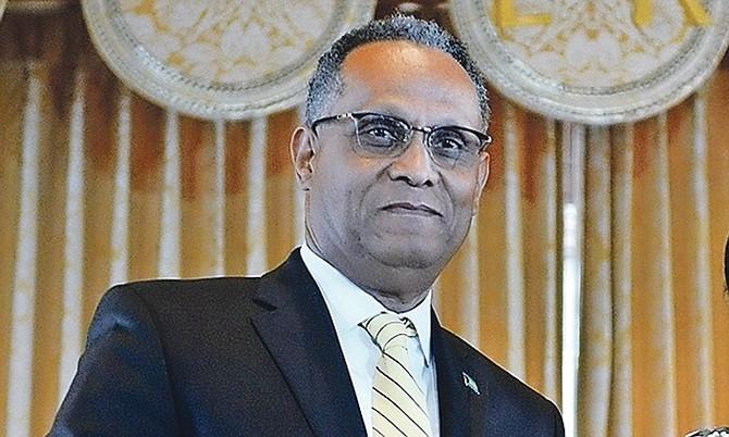 PLP Senator Dr Michael Darville.