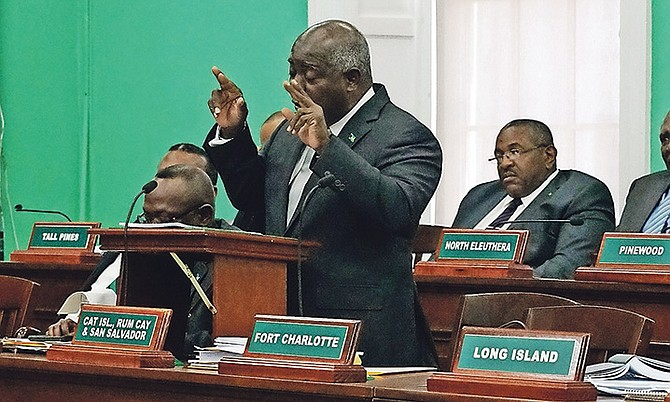 OFFICIAL Opposition Leader Philip 'Brave' Davis. (File photo)