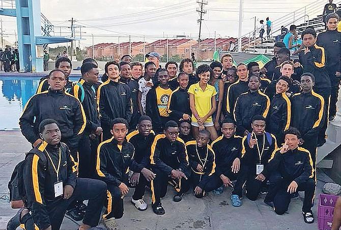The Bahamas U-19 team.