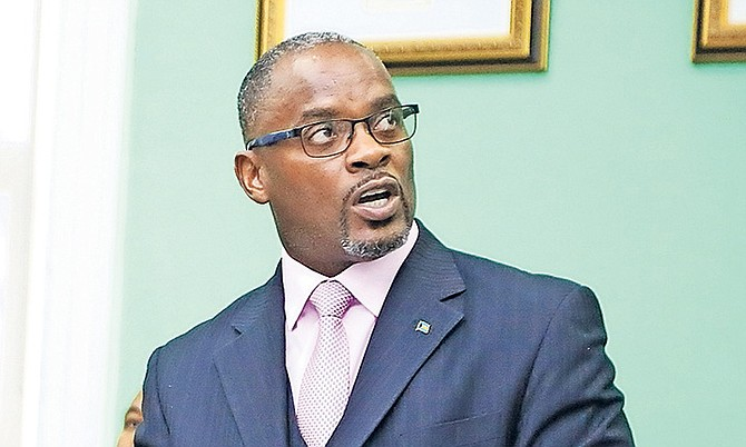 Central Grand Bahama MP Iram Lewis.
