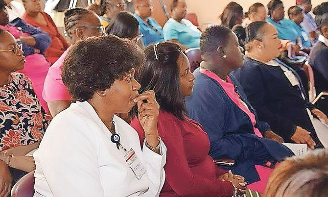 Attendees of a gambling addiction symposium hosted by Sandilands Rehabilitation Centre.