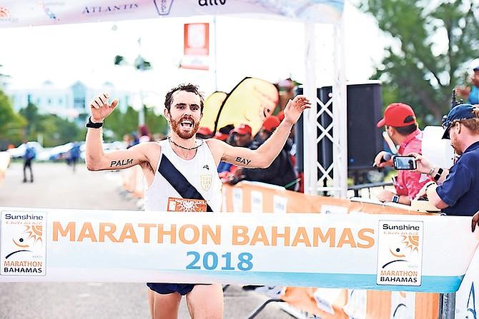 American David Kilgore, Marathon Bahamas' overall winner in this year's race.
