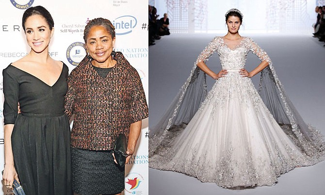 LEFT: Meghan Markle and her mother, Doria Ragland.