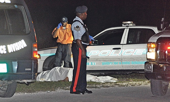 Pedestrian killed, another injured as vehicle hits them on highway