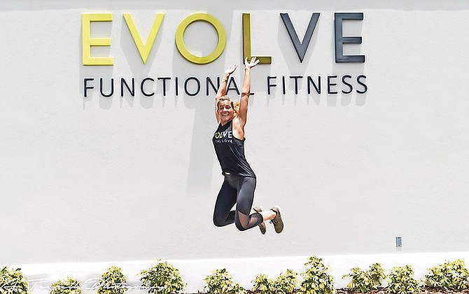 Evolve owner Tangerine Curry-Dinnick had fulfilled her dream of opening a new type of fitness facility.