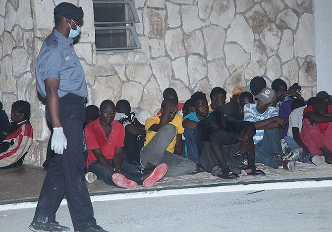 80 haitian migrants intercepted near exuma chain the tribune