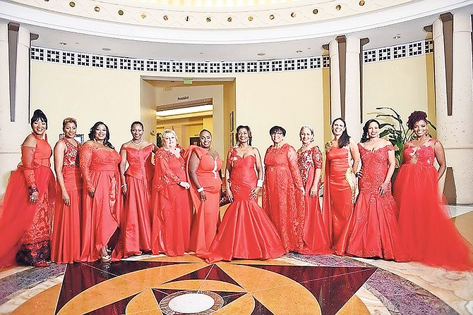 2016 Red Dress Soirée leading ladies.