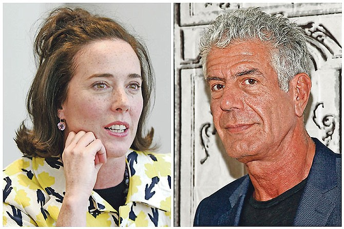 The suicides of Kate Spade and Anthony Bourdain have left many distraught - and wondering what they can do to reach out to those around them who may be in need.