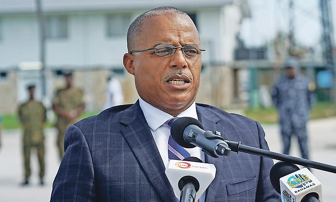 Minister of National Security Marvin Dames.
