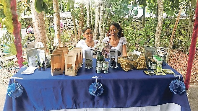 The Mylk Goddess stand at the recent Summerfication event at The Retreat.