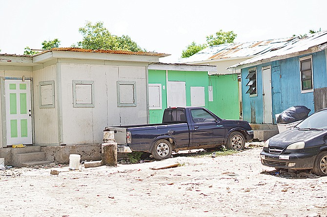 A New Providence shanty town. Photos: Shawn Hanna/Tribune Staff