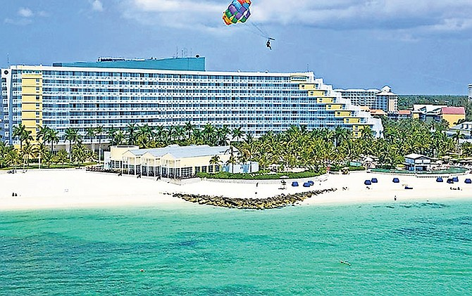 The Grand Lucayan resort in Grand Bahama.