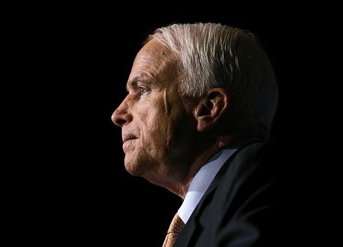 US Senator John McCain. (AP)