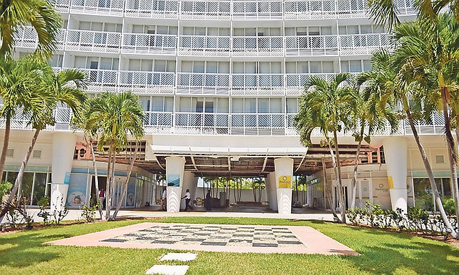 The Grand Lucayan resort.