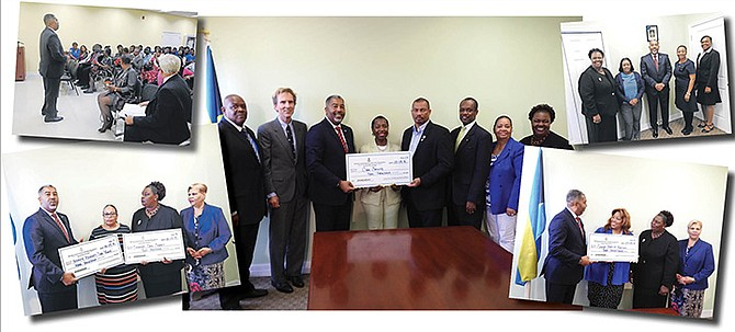 $30,000 in grants being handed out by Minister of Social Services Frankie Campbell.