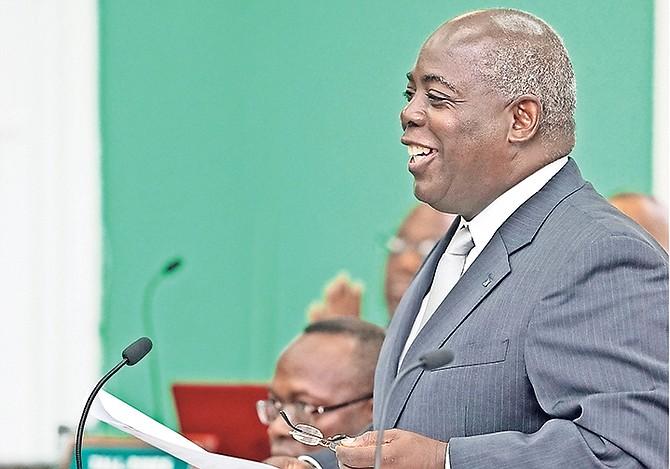 Leader of the Opposition Philip Davis. Photo: Terrel W. Carey Sr/Tribune Staff
