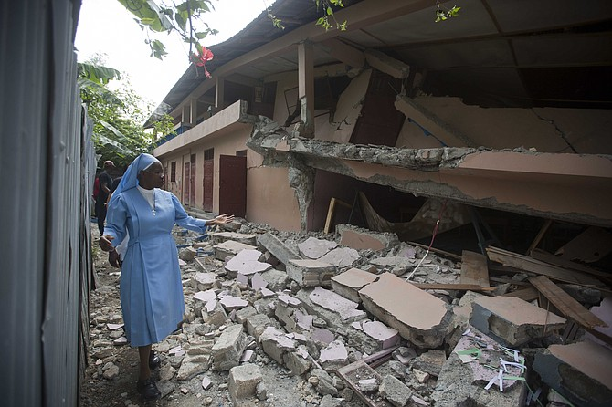 Damage in Haiti after the recent earthquake. (AP)