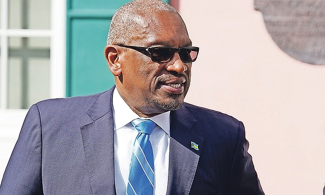 Prime Minister Dr Hubert Minnis. Photo: Terrel W Carey Sr/Tribune Staff