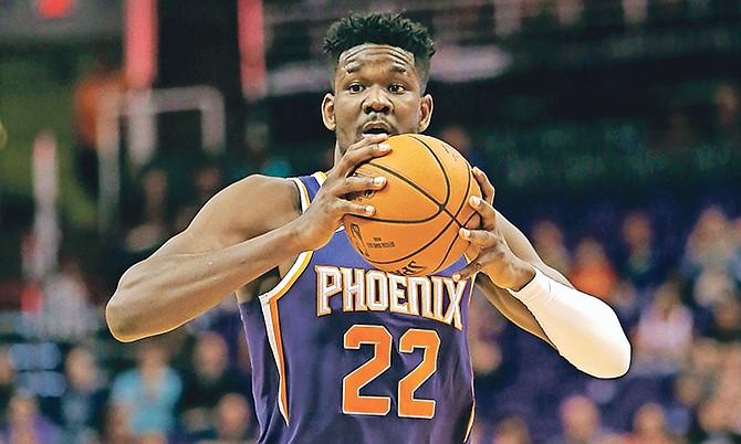 Phoenix Suns centre Deandre Ayton. (AP)