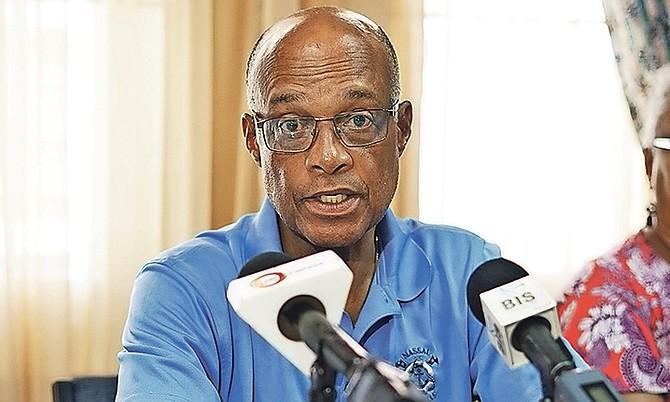 Minister of Education Jeff Lloyd. Photo: Terrel W Carey/Tribune Staff