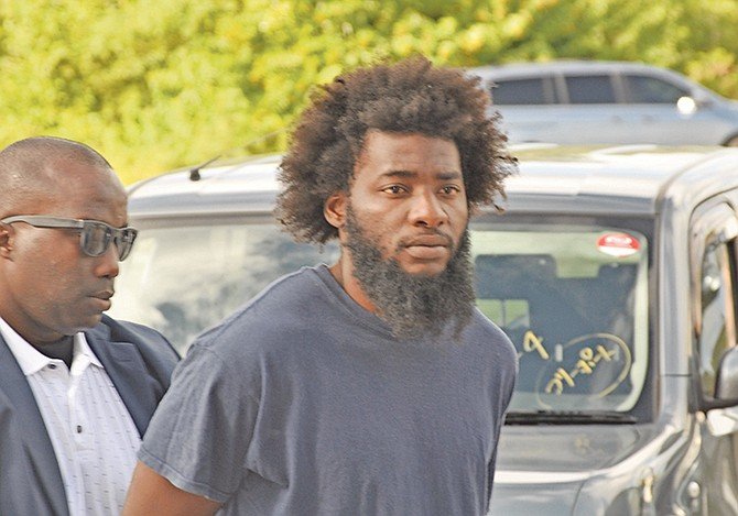 Donovan A Hanna pleaded guilty to obstruction of justice in Grand Bahama on Monday. Photo: Vandyke Hepburn