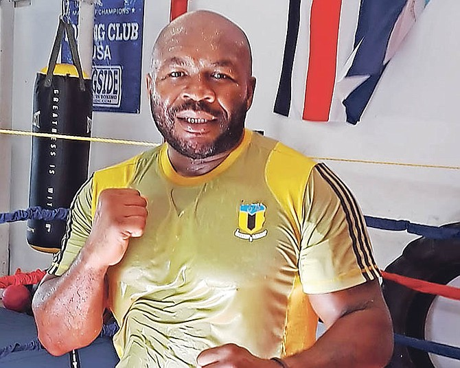 Heavyweight boxer Sherman 'The Tank' Williams is set to square off with Samuel Miller.